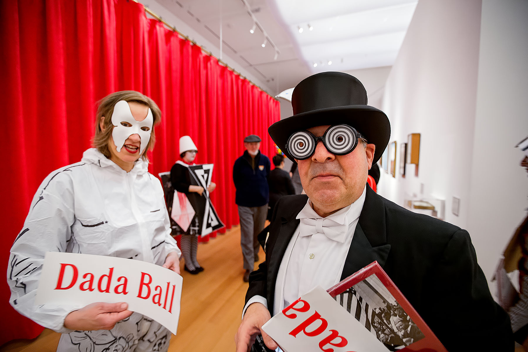 16-043 Dada Ball at the Yale Art Gallery 2/25/16